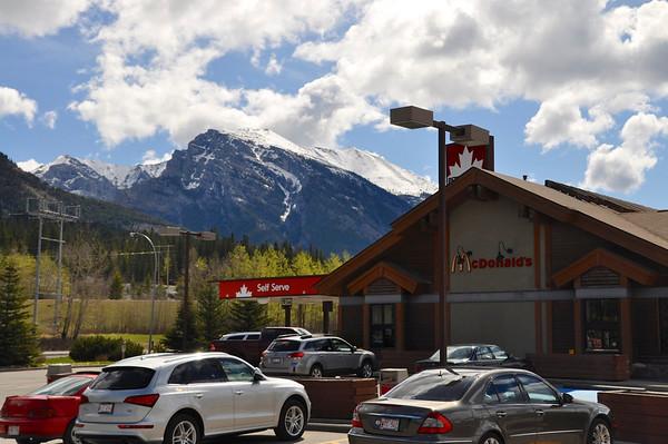Enroute Banff