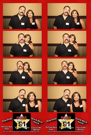 South Gate High School 20 Year Class Reunion - Photo Booth Pictures