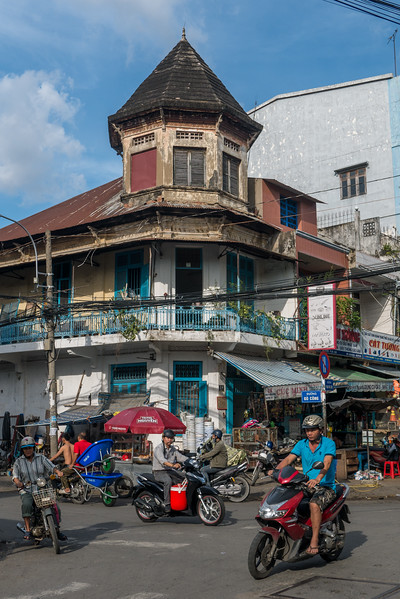 In Cholon, the Chinatown in Saigon, Vietnam.