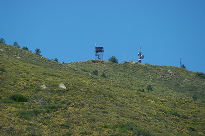 Los Pinos Mountain Fire Lookout & Espinosa Trail - July 3, 2010