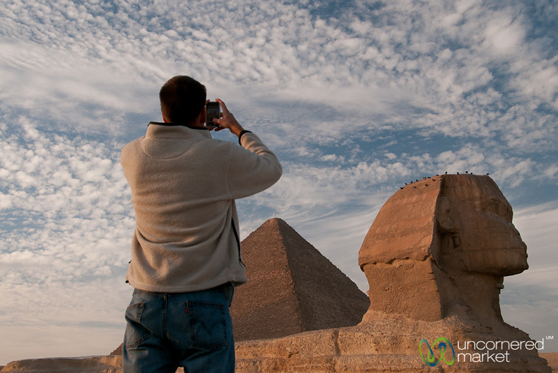 iPhoneography and the Great Sphinx - Giza, Egypt
