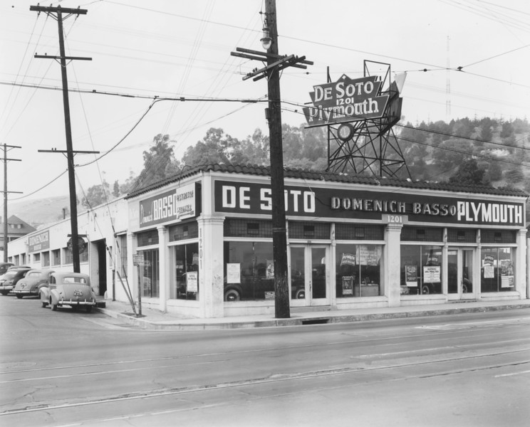 1940s, Dealership on North Broadway
