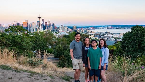 Seattle - Vancouver - Mt.  Rainier 2018