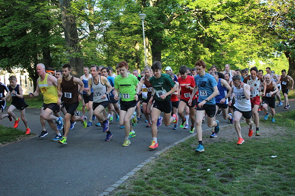 Sri Chinmoy Races 2 miles Wed 23 May 2018