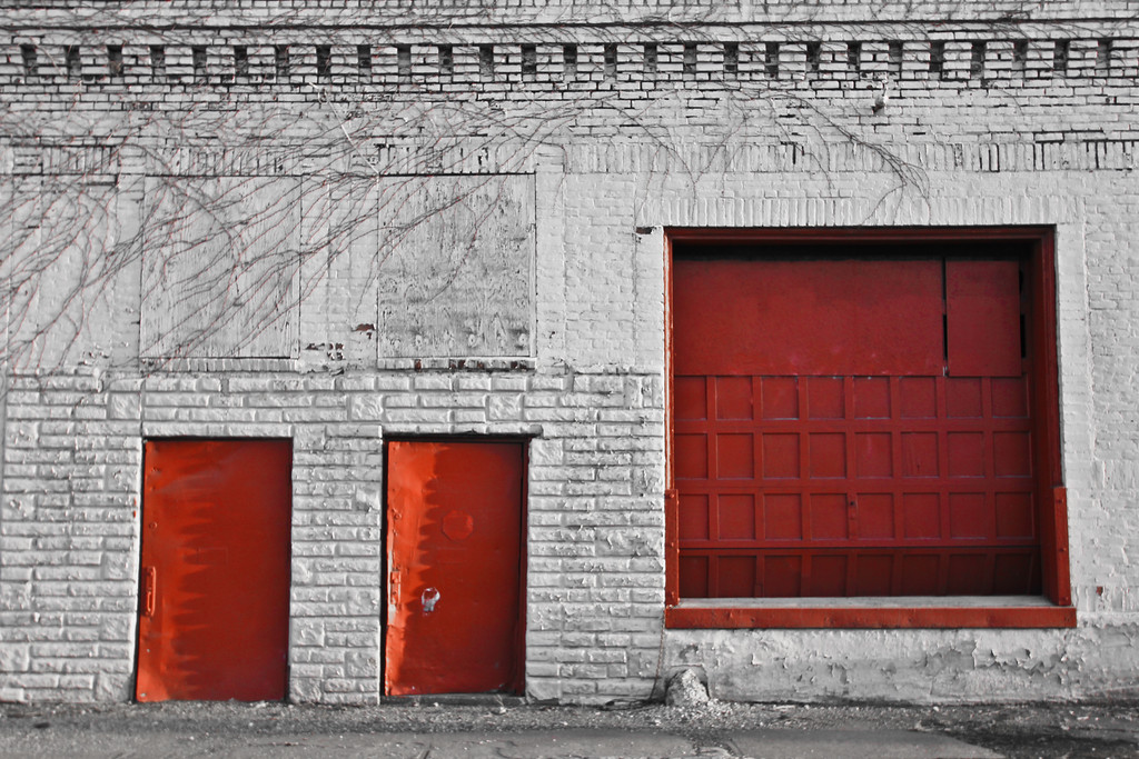 3/8/12<br /> <br /> Abandoned warehouse/factory in Cleveland