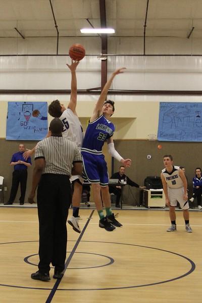 Varsity Boys Boys Basketball at East Texas Christian 2.12.15
