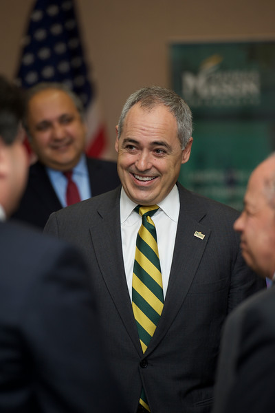 ANGEL CABRERA-PRESIDENT OF GEORGE MASON UNIVERSITY. DECEMBER 2015