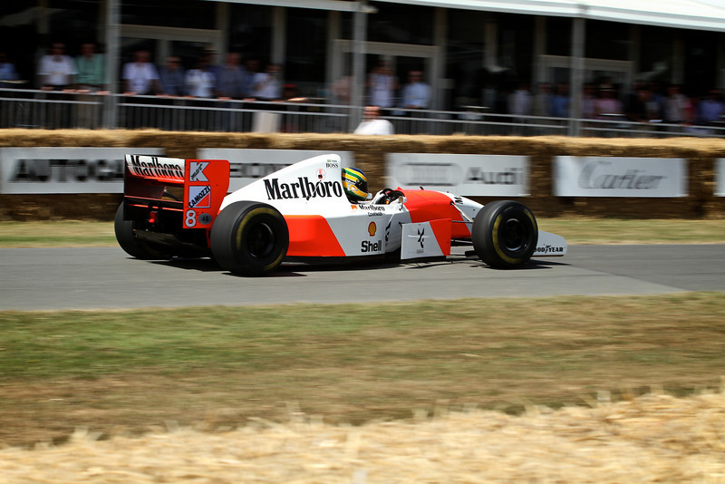 Bruno Senna, McLaren-Cosworth MP4/8 (1993)