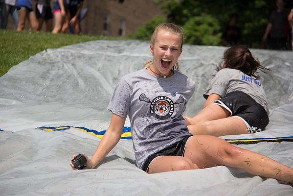 Grade 8 Slip'N Slide!