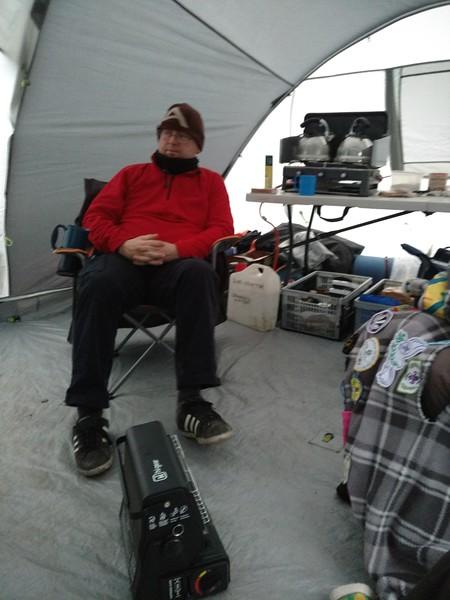 SCOUTS: Winter Camp Bradley Wood
