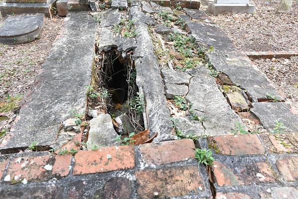 Oak Grove Cemetery Specific Damage 11-21-15