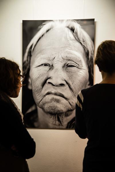 """2014-11: Exhibition of """"Unfreiwillig Sesshaft"""" Vienna"""