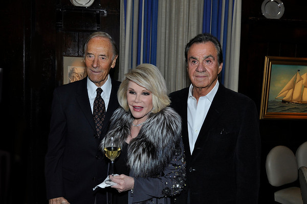 "DOUBLE LIFE ""A Love Story from Broadway to Hollywood"" Book Launch by ALAN SHAYNE and NORMAN SUNSHINE Hosted by JOAN RIVERS, Oct 27, 2011"