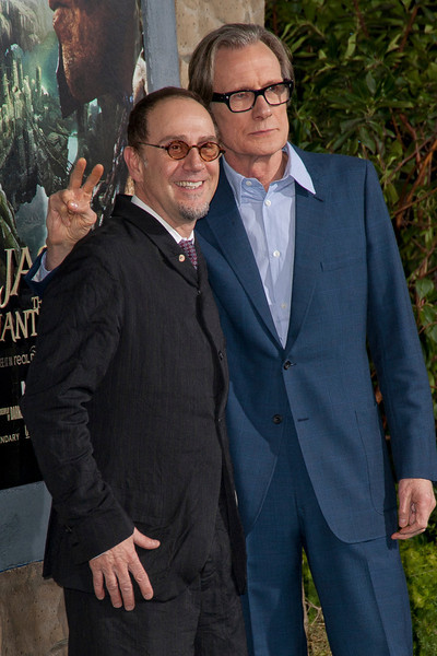 HOLLYWOOD, CA - FEBRUARY 26: Actors John Kassir (L) and Bill Nighy attend the premiere of New Line Cinema's 'Jack The Giant Slayer' at TCL Chinese Theatre on Tuesday, February 26, 2013 in Hollywood, California. (Photo by Tom Sorensen/Moovieboy Pictures)