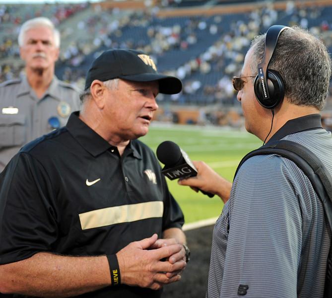 Coach Grobe interviewed by Dave Goren.jpg