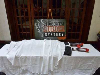 Oztoberfest Murder Mystery 2017