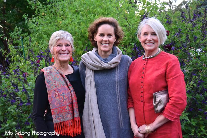 Anne Campodonico, Kim Kieckhefer and Sisi Damner
