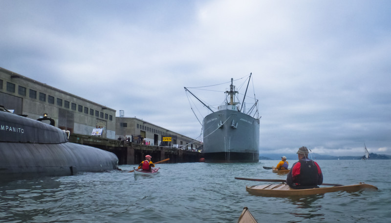 Visiting the Pompanito and the Jeremiah O'Brien.