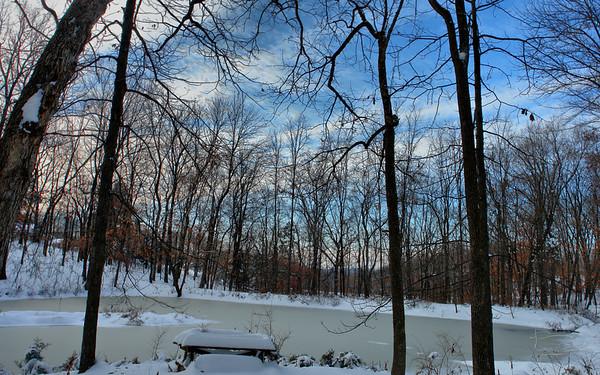winter pond