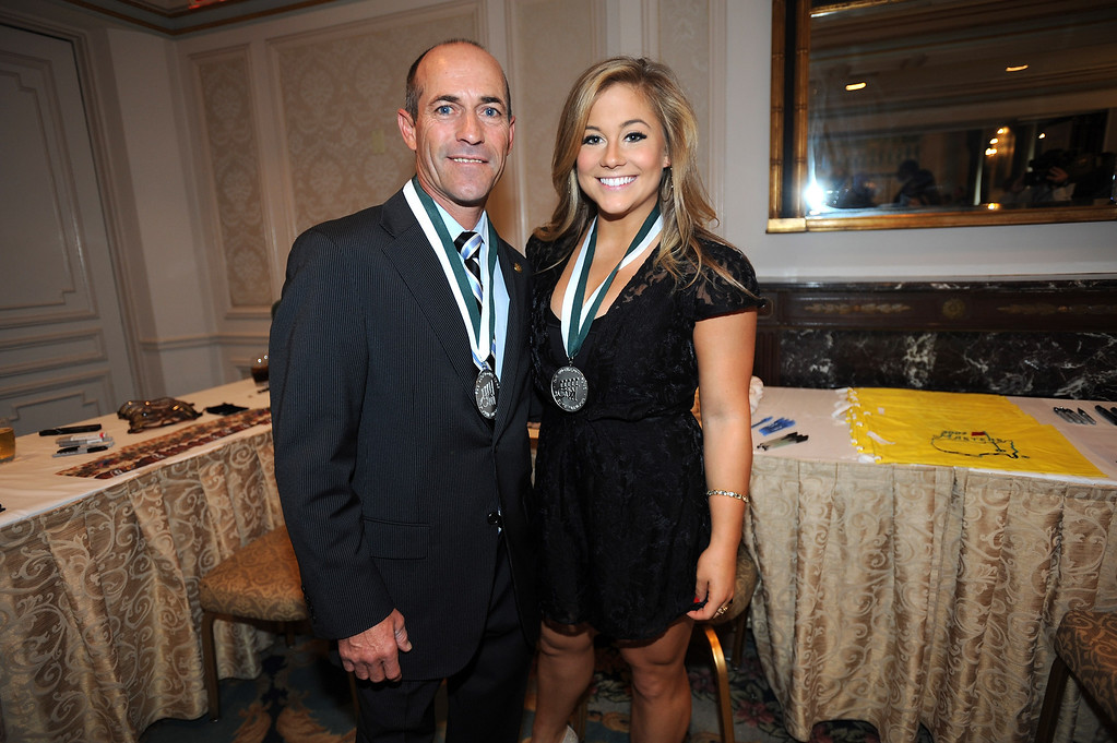 . Sports Legends Gary Stevens and Shawn Johnson attend the 28th Annual Great Sports Legends Dinner to Benefit The Buoniconti Fund To Cure Paralysis at The Waldorf Astoria on September 30, 2013 in New York City.  (Photo by Brad Barket/Getty Images for The Buoniconti Fund To Cure Paralysis)