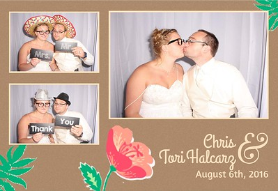 Chris and Tori's Wedding Photo Booth