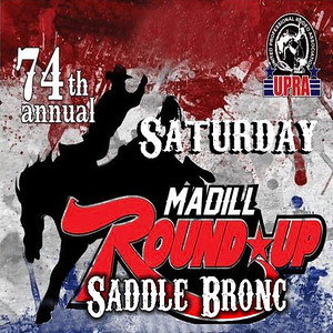 Madill Saturday Night Saddle Bronc