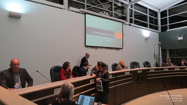 Woodridge Marijuana VOTE Meeting  Dec 5 2019