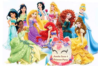 Amelia_Turns_4 Princess Party