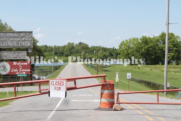 Flooding  Pine Bluff Arkansas May 26, 2019