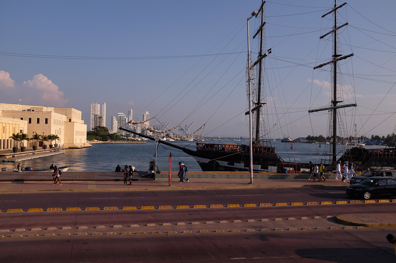 Just outside the city walls, this was the historic Customs Wharf.  The original customs house is a few dozen feet away.