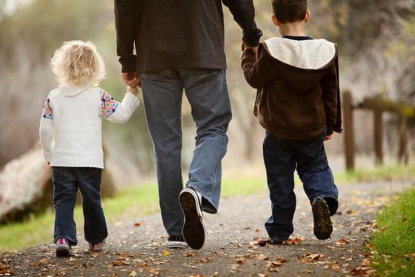 Chris and his kids