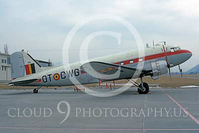 Belgium Air Force Douglas C-47 Skytrain Transport Military Airplane Pictures  for Sale