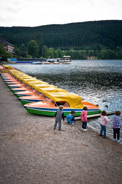 Boats at Titisee