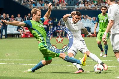 Sporting KC host Seattle