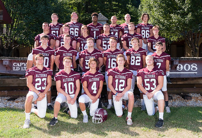 AAHS Football 2016 Seniors - Horseshoe Curve