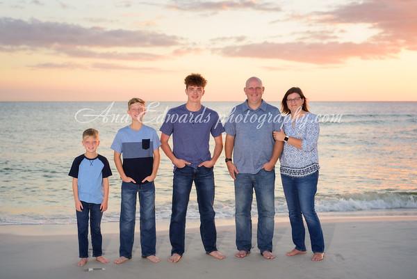 The Regashus family  |  Panama City Beach