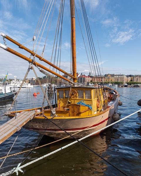 Tug boat, Skeppsholmen, Stockholm, Sweden