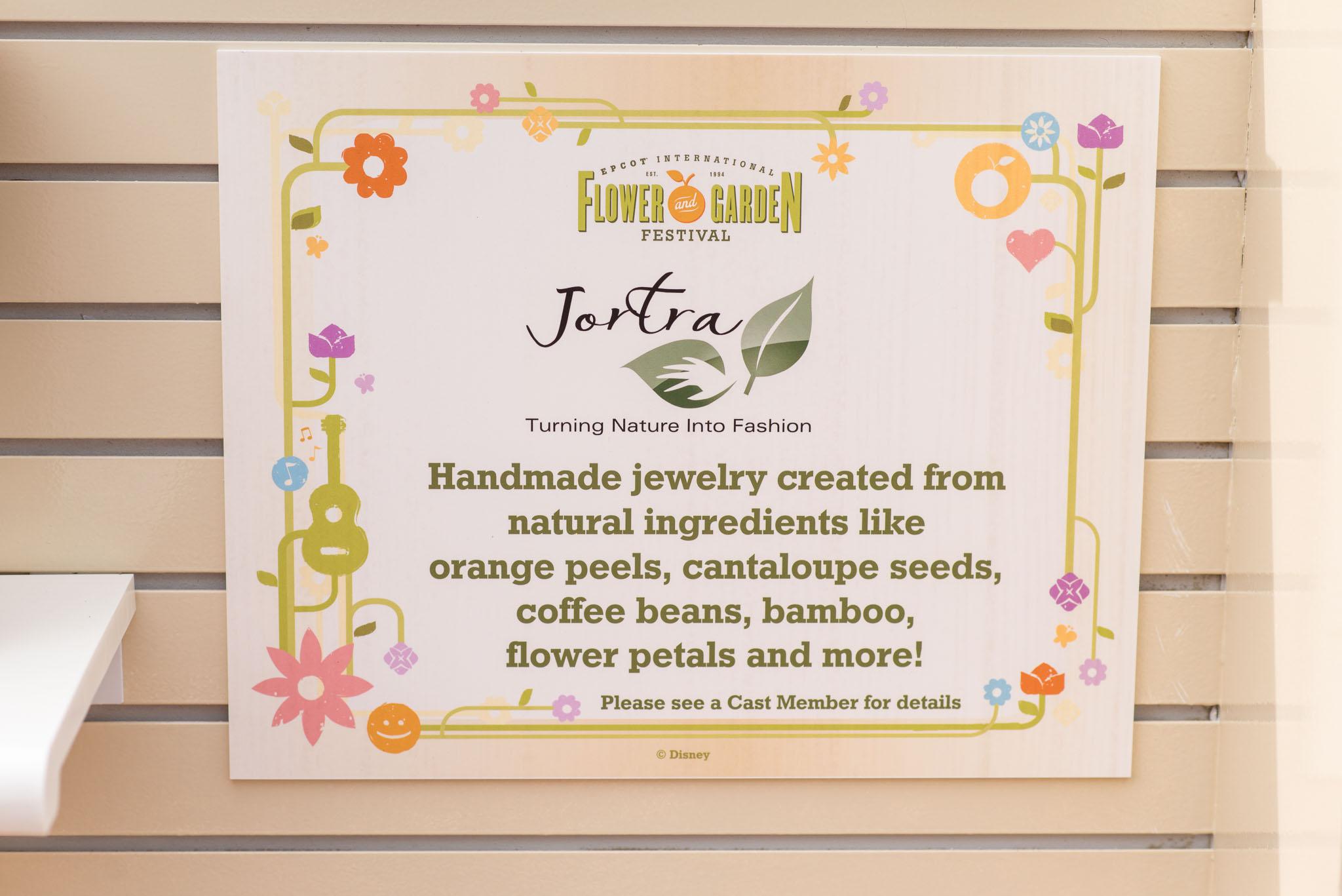 Jortra Jewelry - Epcot Flower & Garden Festival 2016