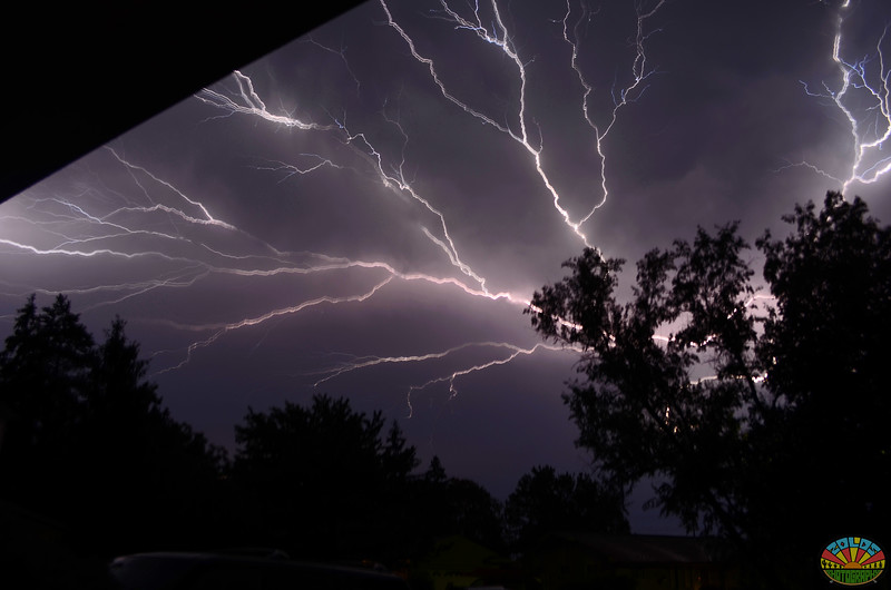 My first lightning shot