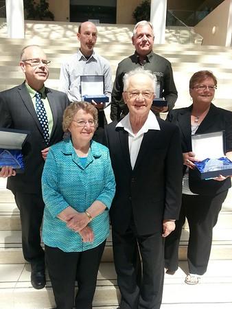 Charles Labatiuk Award Winners