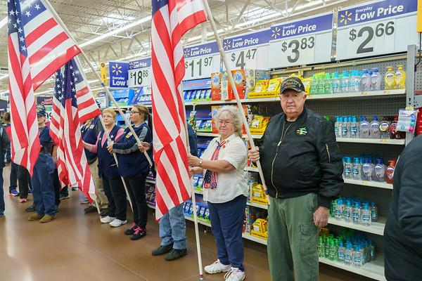 Walmarts Veterans Day Nov. 9, 2018