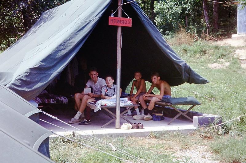 1969 - David Hamilton Tent of Boys.jpg