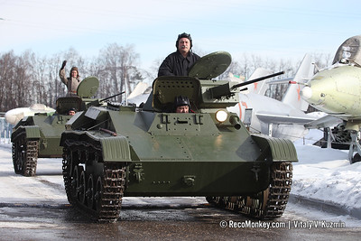 Defender of the Fatherland Day 2019 celebration in Zadorozhny's Technical Museum