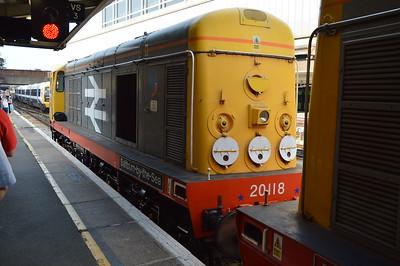 GBRf 15 Railtour 8-11th September 2016