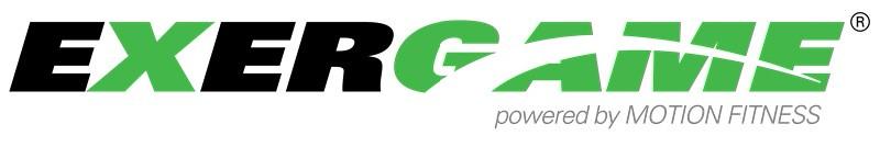 Exergame Fitness Logos