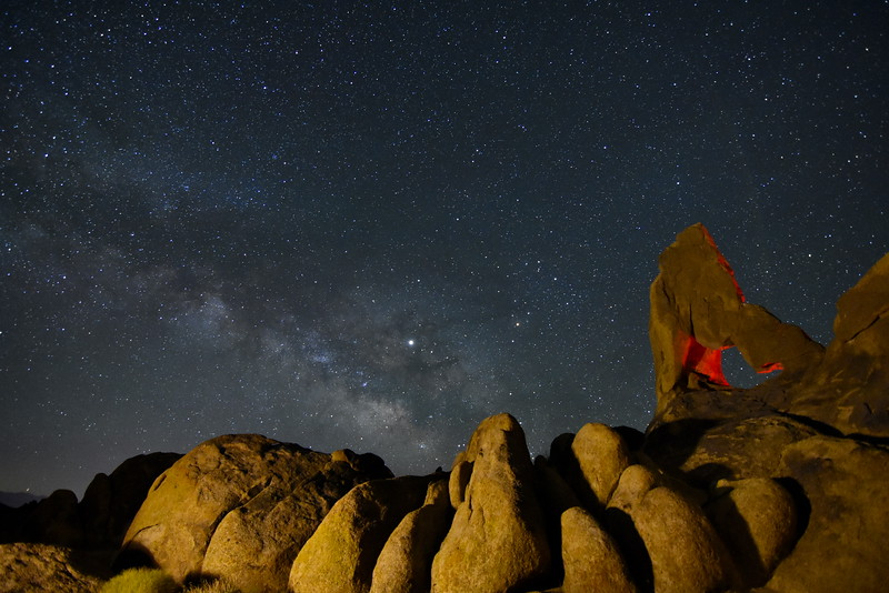 Boot Arch & Milky Way