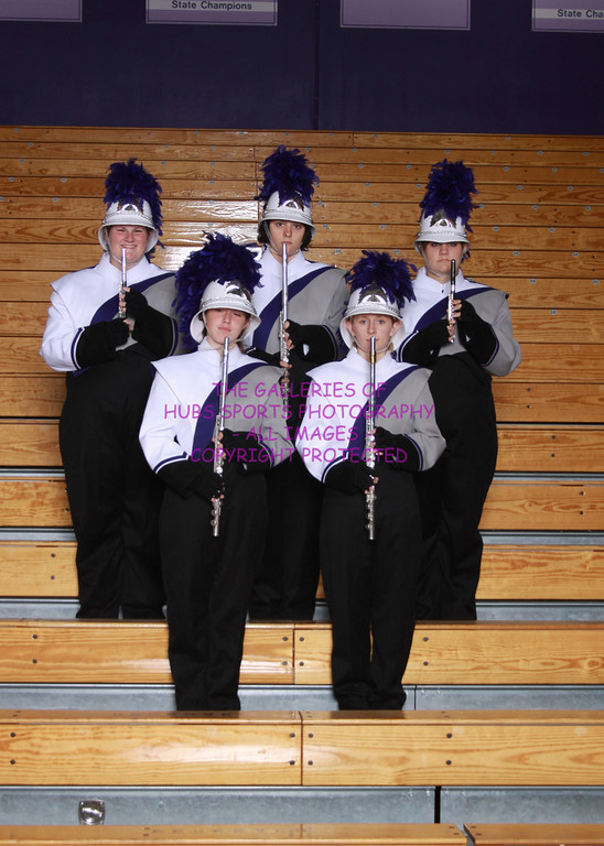2010 RTHS HUBS MARCHING BAND PICTURE DAY