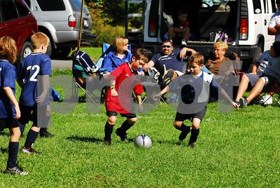 Team 2 Red vs Team 3 Navy Blue - 9-20-08