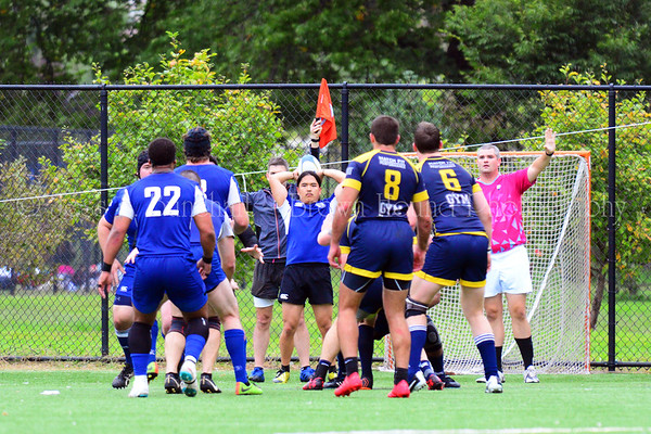 Gotham Knights vs Brooklyn Rugby, October 6, 2018