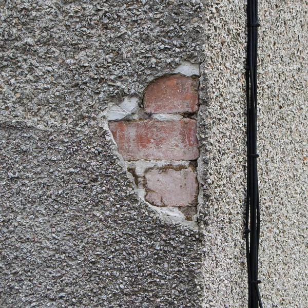 Row houses were originally brick